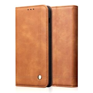 Casual Style Retro Crazy Horse Texture Horizontal Flip Leather Case with Card Slots & Holder & Wallet for iPhone 11 Pro(Khaki)