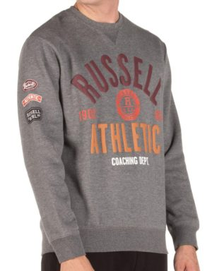 RUSSELL ATHLETICBADGED HOODIE (A9-029-2-090)