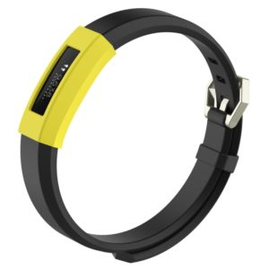 Intelligent Wearable Device, Solid Color Silicone Watch Protective Case for FITBIT Alta / HR (Yellow)