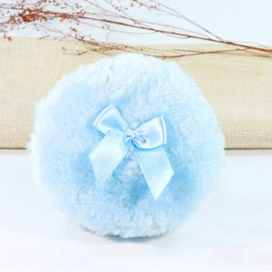 Baby Fluffy Soft Puff Face Body Can be Designed with Fleece(Blue)
