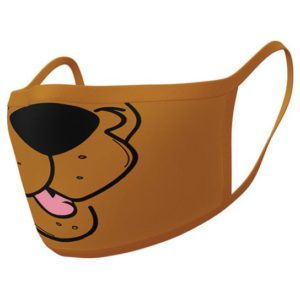 Pyramid International Face Cover Triple Layer Protection Scooby Doo Mouth 2τμχ