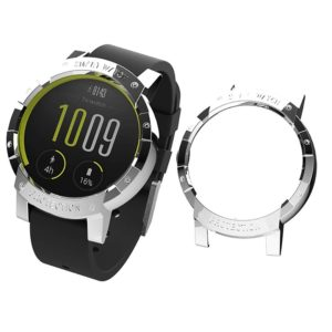 For Tic Watch E Plating PC Protective Case (Silver)