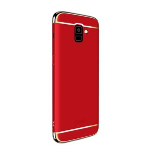 MOFI Three Stage Splicing Full Coverage PC Case for Galaxy J6 (2018) (Red) (MOFI)