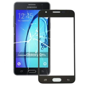 Front Screen Outer Glass Lens for Galaxy On5 / G550 (Black)