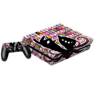 Vinyl Decal Stickers for PS4 Game Console