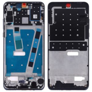 Middle Frame Bezel Plate with Side Keys for Huawei P30 Lite (24MP)(Black)