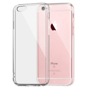 Silicone Case Ultra Slim 0,5mm Clear for Apple iPhone 6-6s