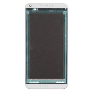 Front Housing LCD Frame Bezel Plate for HTC Desire 816(White)