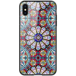 NILLKIN Exquisite Art Pattern Tempered Glass Case for iPhone XS Max (NILLKIN)