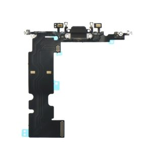Charging connector flex cable black - Apple iPhone 8 Plus