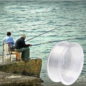 100m Extra Strong 6.0# 0.40mm 14.5kg Dedicated to the River Fishing Falcon Fishing Line (White)