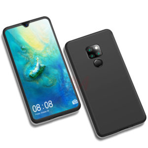 360° Full Body Protection Hard Cover Θήκη για Huawei Mate 20 Pro - Μαύρη