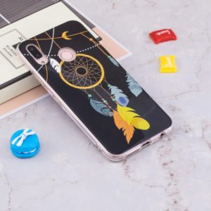 For Huawei P20 Lite Noctilucent Wind Chimes Pattern TPU Soft Case