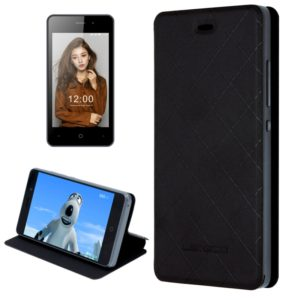LEAGOO for Z1 (MPH0232) Horizontal Flip Leather Case with Holder(Black) (LEAGOO)