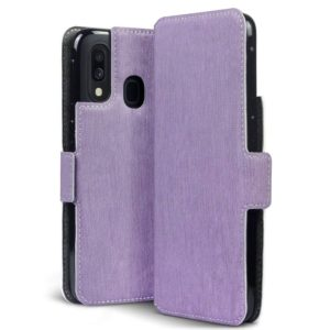 Terrapin Terrapin Low Profile Θήκη - Πορτοφόλι Samsung Galaxy A40 - Purple (117-002a-147)