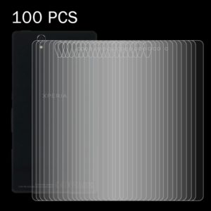 100 PCS for Sony Xperia Z / L36h 0.26mm 9H Surface Hardness 2.5D Explosion-proof Back Tempered Glass Film