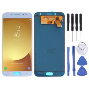 LCD Screen and Digitizer Full Assembly (TFT Material ) for Galaxy J7 (2017), J730F/DS, J730FM/DS(Blue)