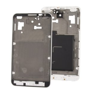 2 in 1 for Galaxy Note / i9220 (Original LCD Middle Board + Original Front Chassis)(White)