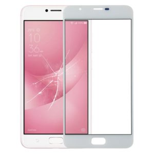 Front Screen Outer Glass Lens for Asus ZenFone 4 Max Plus ZC550TL X015D (White)