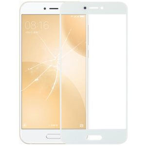 Front Screen Outer Glass Lens for Xiaomi Mi 5c(White)