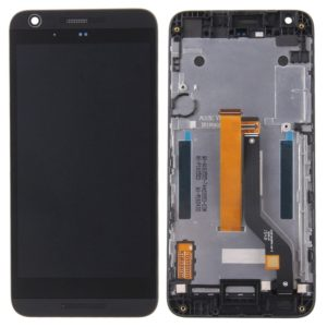 Original LCD Screen and Digitizer Full Assembly with Frame for HTC Desire 626s(Black)