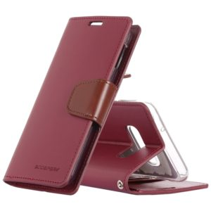 GOOSPERY SONATA DIARY Horizontal Flip Leather Case for Galaxy S10e, with Holder & Card Slots & Wallet(Red) (GOOSPERY)