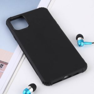 Solid Color TPU Shockproof Case for iPhone 11(Black)