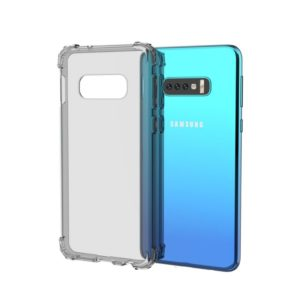 Transparent Shockproof TPU Case for Galaxy S10e(Grey)