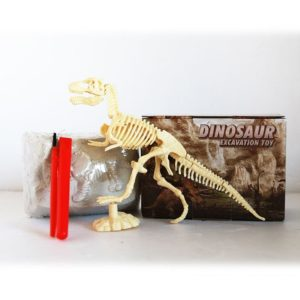 Assembled Tyrannosaurus Skeleton Archaeological Excavation Toys Simulation Fossil Model Manual Toys