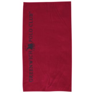 Πετσέτα Θαλάσσης Essential Beach Towel 2805 Red Jacquard Cotton Polo Club (90x170) 1Τεμ