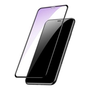 Baseus Tempered Glass Full Screen Protector για το iPhone XS Max / 11 Pro Max - Black (SGAPIPH65 - KD01)