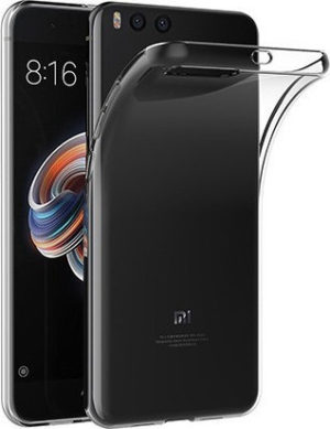 OEM Back Cover Σιλικόνης 0.5mm Διάφανο (Xiaomi Mi Note 3)