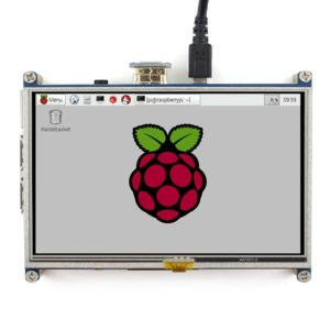 WAVESHARE 5 Inch HDMI LCD 800x480 Touch Screen for Raspberry Pi