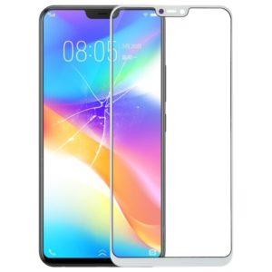 Front Screen Outer Glass Lens for Vivo Y85(White)