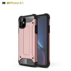 Magic Armor TPU + PC Combination Case for iPhone 11(Rose Gold)
