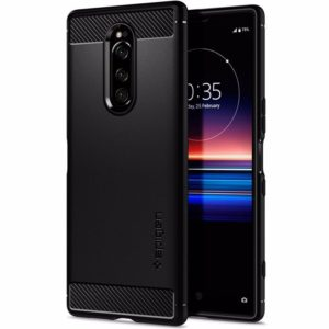 Spigen Rugged Armor for Sony Xperia 1, Black