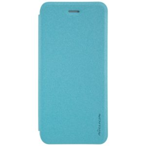NILLKIN SPARKLE Series For iPhone 8 & 7 Frosted Texture Horizontal Flip Leather Case with Sleep / Wake-up Function(Blue) (NILLKIN)