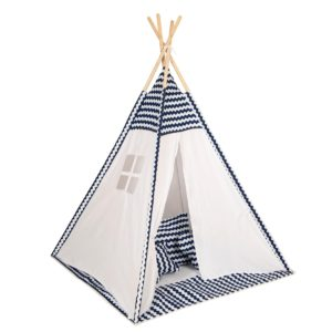 Baby Adventure Παιδική σκηνή Tepee Blue Wave