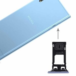 for Sony Xperia XZs (Single SIM Version) SIM & Micro SD Card Tray(Blue)