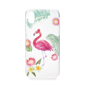 FORCELL Back Cover Σιλικόνης Summer FLAMINGO για SAMSUNG A6 2018