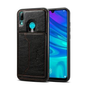 Dibase TPU + PC + PU Crazy Horse Texture Protective Case for Huawei P Smart 2019 & Honor 10 lite , with Holder & Card Slots(Black) (dibase)