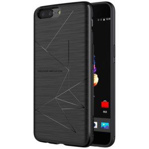 NILLKIN Magic Case for OnePlus 5 TPU Magnetic Brushed Texture Dropproof Protective Back Cover Case (NILLKIN)