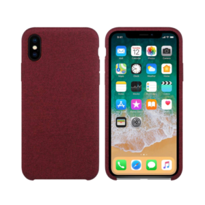 Silicone case No brand, For Apple iPhone X/XS, Hiha, Red - 51672