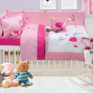 Das Home Κουβερλί Βρεφικό Σετ Baby Dream Embroidery 6464
