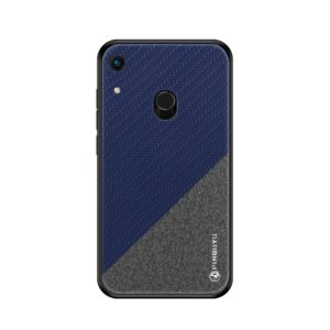 PINWUYO Honors Series Shockproof PC + TPU Protective Case for Huawei Y6 2019 (Fingerprint Hole) / Y6 Prime 2019 / Honor 8A Pro(Blue) (PINWUYO)
