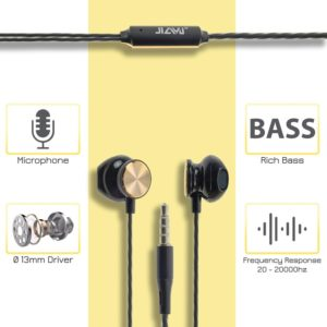 Stereo Hi-Fi Handsfree JY-355 Black-Gold