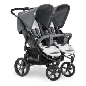 Hauck – Καρότσι διδύμων Roadster Duo SLX Grey Silver
