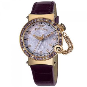 Ρολόι JOHN GALLIANO L elu Leather Strap - R1551100575 R1551100575