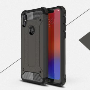 Magic Armor TPU + PC Combination Case for Motorola One (P30 Play) (Bronze)