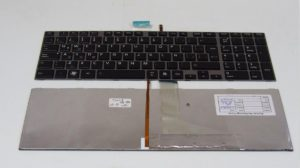 Πληκτρολόγιο Laptop Toshiba C850 C850D C855 C855D C870 C870D C875 C875D L850 L850D L855 L855D L870 L870D L875 L875D UK VERSION SILVER BACKLIT KEYBOARD (Κωδ.40012UKSILVERBACKLIT)